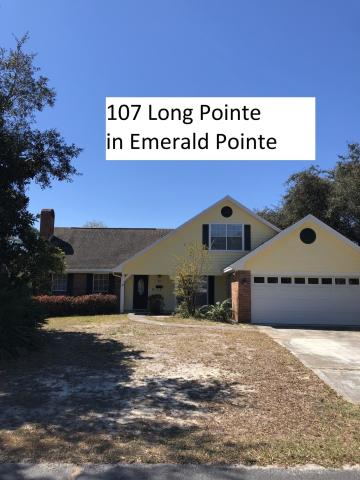 107 LONG POINTE DRIVE MARY ESTHER FL